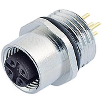 Sensor de M12 fichário 09-3442-88-05 / conector do atuador, parafuso de fechamento, em linha reta