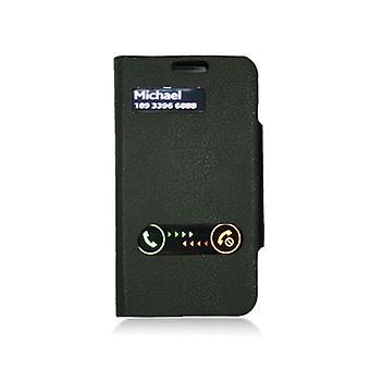 KuKu Mobile Leather Folio Case Cover for Samsung Galaxy S3 I9300 - Black