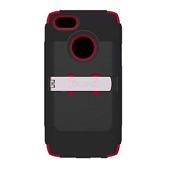 5 Pack -Trident Kraken AMS Case for Apple iPhone 5 (Black/Red)