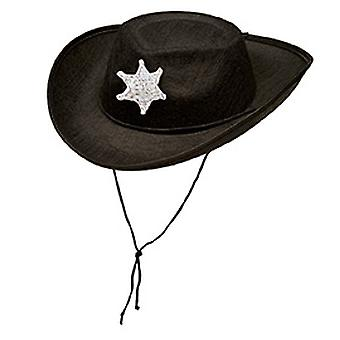 Cowboy hat Texas Ranger kids black accessories Halloween Carnival