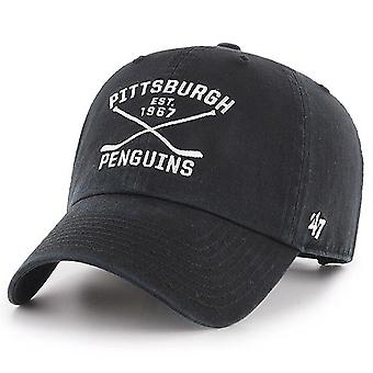 47 fire Adjustable Cap - AXIS Pittsburgh Penguins Black