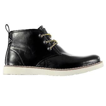Soviet Mens Anzhi Casual Boots Cushioned Insole Lace Up Ankle Footwear