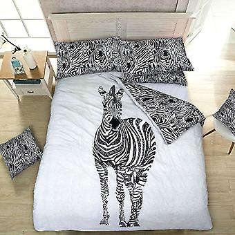 Pieridae Zebra Duvet Cover Quilt Cover Bedding Set