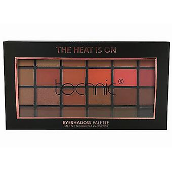 Technic 24 Shade Eyeshadow Palette The Heat Is On