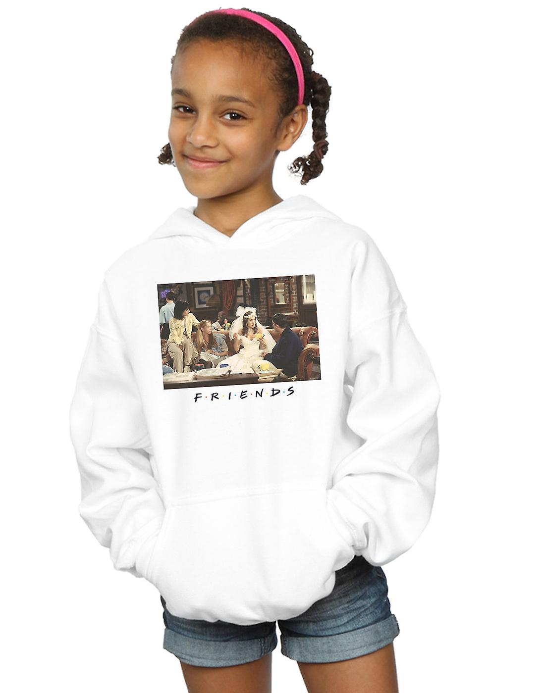 Friends Girls Rachel Wedding Dress Hoodie