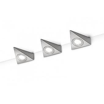 Trio Lighting Ecco Modern Nickel Matt Metal Wall Lamp