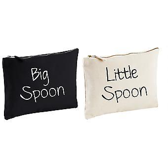 Pary Wash Bag zestaw duże łyżka trochę łyżka