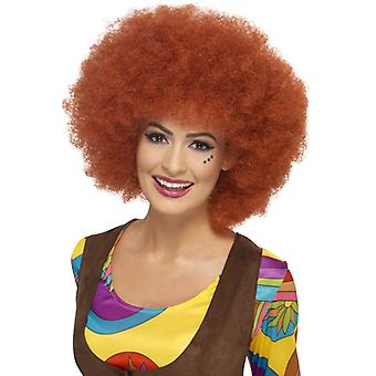 60 ' s afro WIG Chestnut Brown