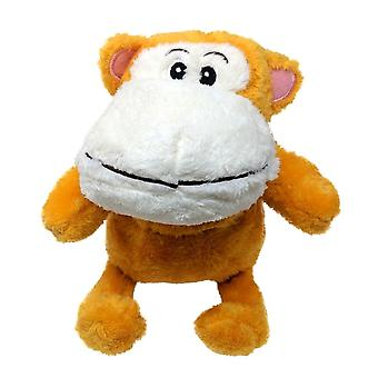 Children's Heated Microwavable Cuddly Ginger Monkey Teddy