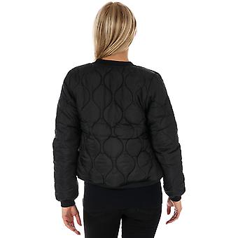 Womens Bench Core Bomber Jacket In Black