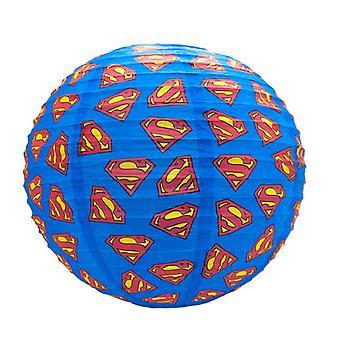 スーパーマン球形紙ライトシェード