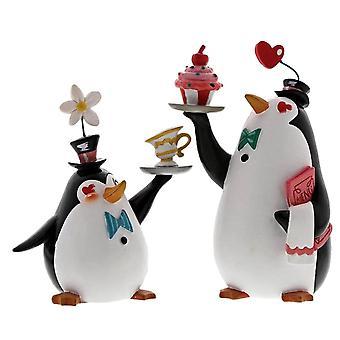 Disney Miss Mindy Penguin Waiters Figurine