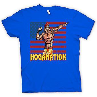 Kids T-shirt - Hoganation - Hulk Hogan US Flag