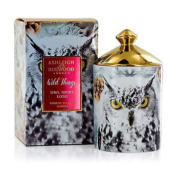 Ashleigh & Burwood Wild Things Luxus duftende Geschenk Boxed Kerze Eule Nacht lang