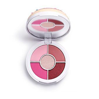 Make-up revolutie in hart revolutie donuts Raspberry icing