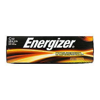 Energizer Industrial C / LR14 Alkaline-Batterie (Packung mit 12)