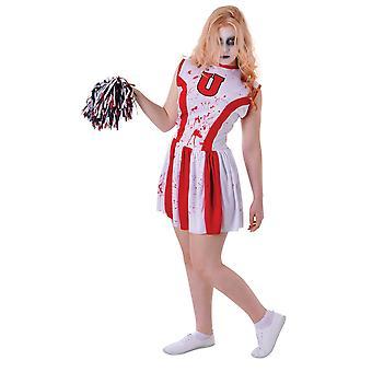 Bristol nyhed unge piger Bloody Cheerleader kostume