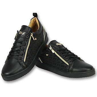 Black Sneakers - Shoes Maya Full Black - CMP97