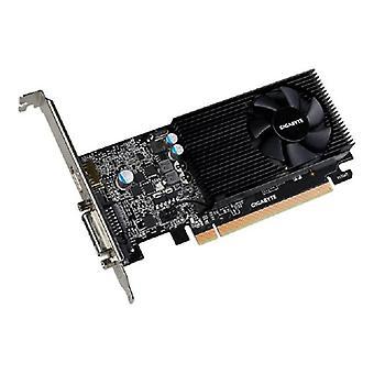 Gigabyte GF GT 1030 laag profiel PCIe X16, 2GB GDDR5, DVI, HDMI