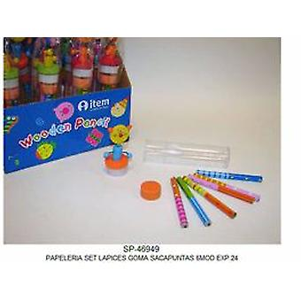 Import Set Stationery 6 Models (Babies and Children , Toys , School Zone)