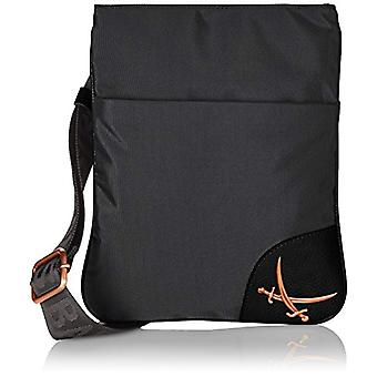 Sansibar B-842 PO Black Woman shoulder bag (Black (black 1)) 24x27x1 cm (B x H x T)