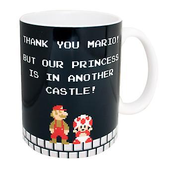 Super Mario Bros. Thank You Mario Coffee Mug