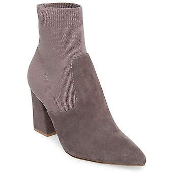 Steve Madden Womens Reece Leather Pointed Toe Ankle Fashion Boots
