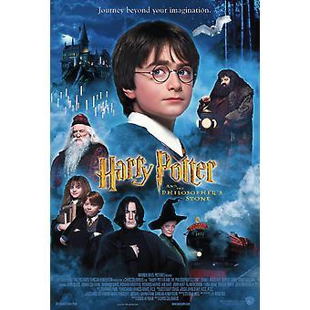 हैरी पॉटर और दार्शनिक और apos;s स्टोन (इंटरनेशनल) मूल सिनेमा पोस्टर
