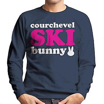 Courchevel Ski Bunny Men's Sweatshirt