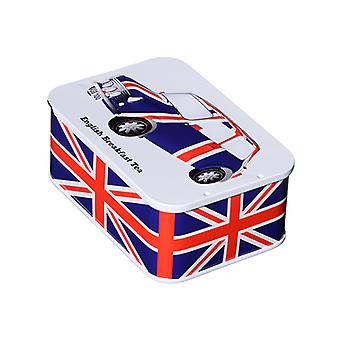Union Jack Tin 10 English Breakfast tepåsar (jfuncar) av Heritage Cars™
