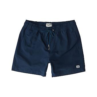 Billabong All Day Layback Elasticated Boardshorts in Navy