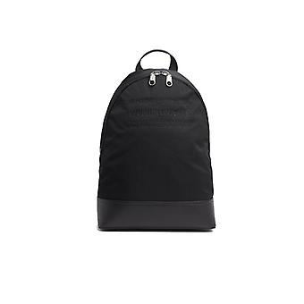 CALVIN KLEIN BLACK NYLON BACKPACK