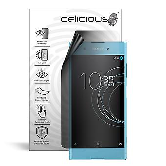 Celicious Privacy Lite 2-Way Anti-Glare Anti-Spy Filter Screen Protector Film Compatible with Sony Xperia XA1 Plus