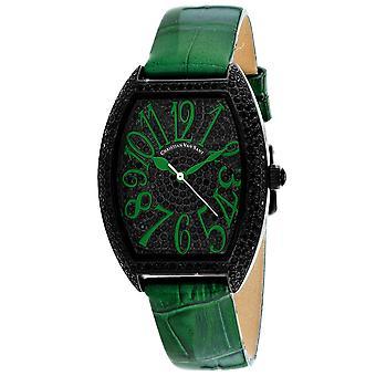 Christian Van Sant Women's Black Dial Watch - CV4825