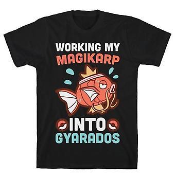 Working my magikarp into gyarados t-shirt