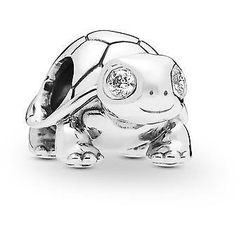 Fascino Pandora animali 797878CZ - tartaruga Silver Charm