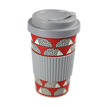 Scion Bamboo Spike Drinks Mug, Red