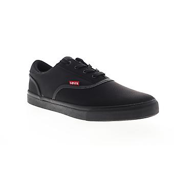 Levis Ethan Perf Wax UL NB  Mens Black Low Top Sneakers Shoes
