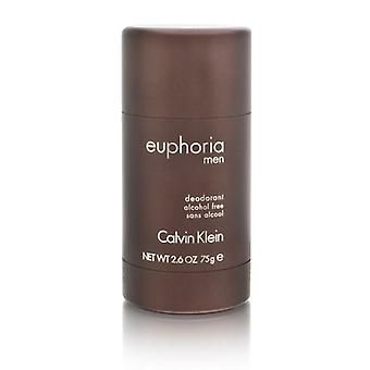 Eufori män genom calvin klein 2,6 oz deodorant pinne alkoholfri