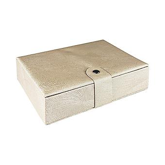 Travel box with 4 compartments - Beige