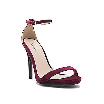 Qupid Womens Grammy Open Toe da occasioni speciali Sandali