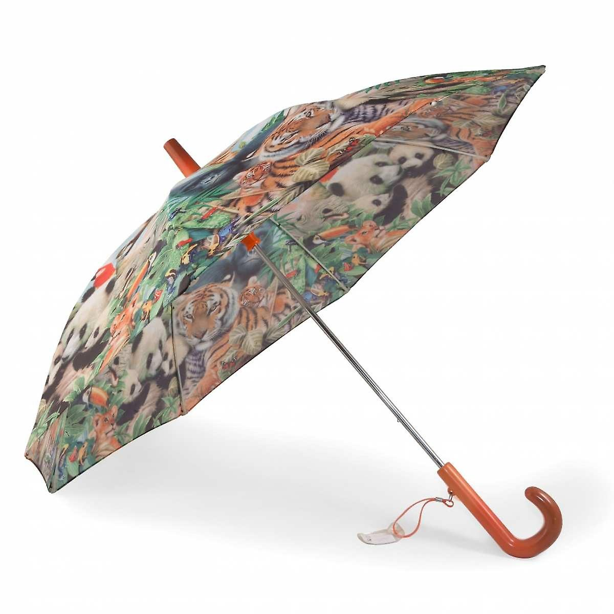 Umbrella for kids jungle animals theme