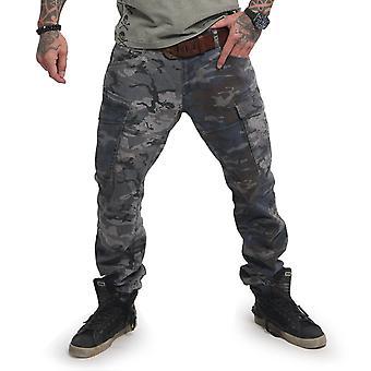 YAKUZA Men's Cargo Pants Harlequin