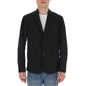 Z Zegna Vu025zz022k09 Hombres's Blazer de Poliéster Negro