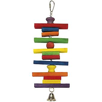 Arquivet Woods Campana colors and 10 x 28 cm (Birds , Toys)