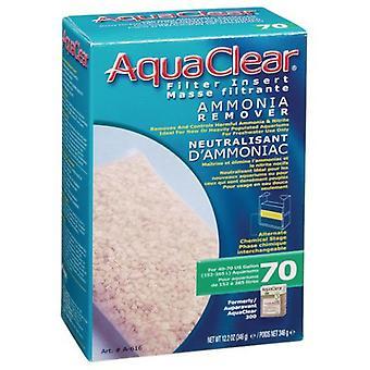 Aquaclear AQUACLEAR 70 CARGA REMOVEDOR ・ デ ・ AMONIO (300)