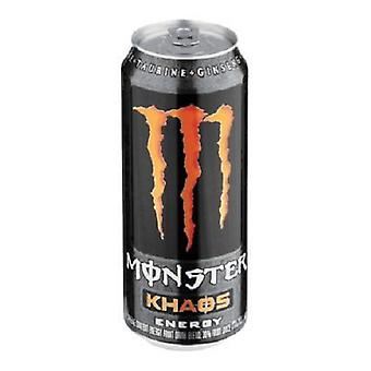 Monster Kaos Drink-( 473 Ml X 12 Cans )