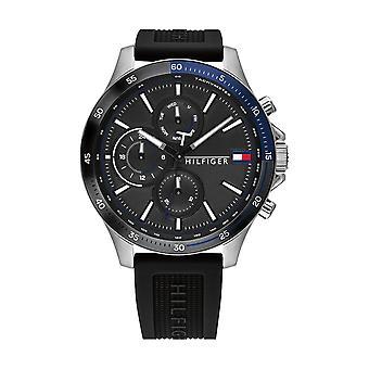 Tommy Hilfiger Watch Watches 1791724 - Heren BANK Horloge