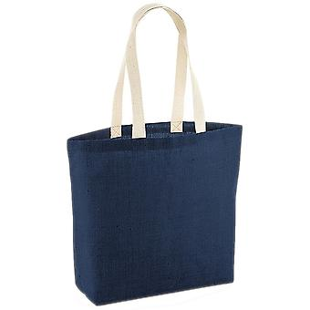 Westford Mill Unlaminated Jute Shopper Bag