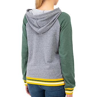 New Era Damen Fleece Hoody - TRI-BLEND Green Bay Packers